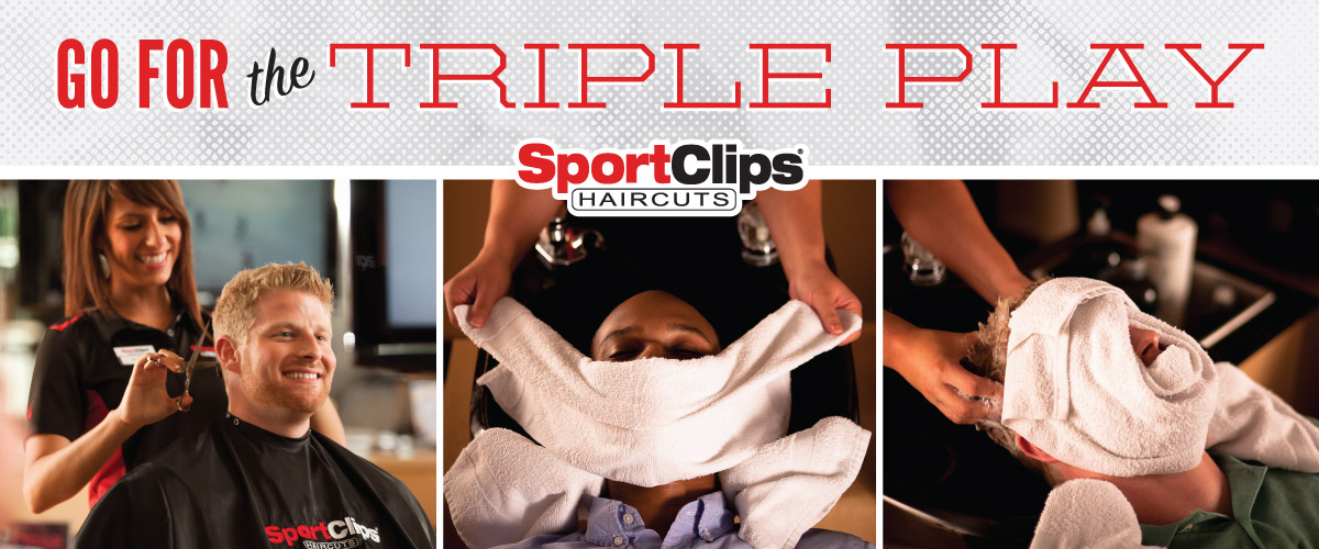 The Sport Clips Haircuts of Cedar Hill Triple Play
